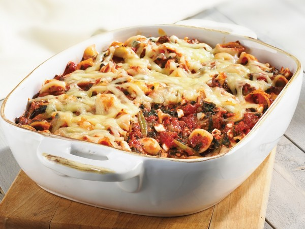 Beef And Pasta Florentine Bake Recipe