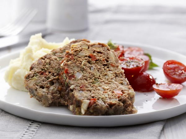 Meat Loaf with Herbs Recipe