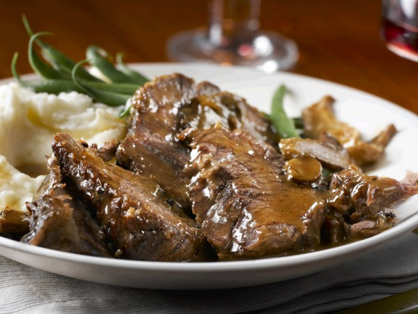 Slow Cooker Marvellous Mushroom Pot Roast Recipe