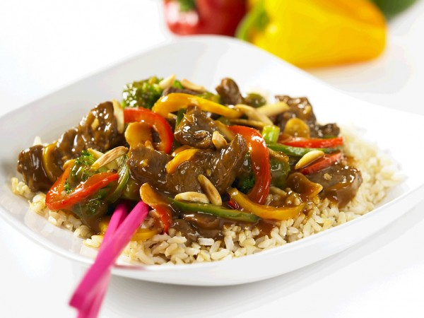 Stoplight Beef Stir-Fry Recipe