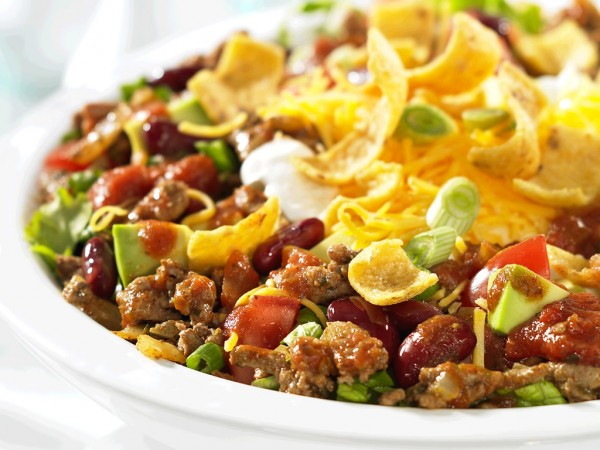 Taco Ground Beef Salad Recipe