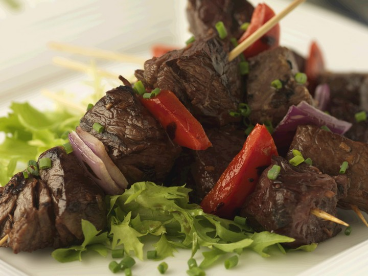 Beef Kabobs with Peanut sauce Recipe